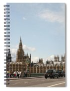 Houses Of Parliament.  Spiral Notebook