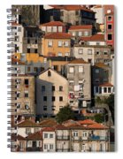 Houses Of Porto In Portugal Spiral Notebook