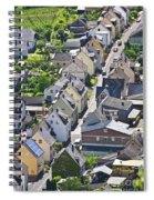 Houses On-line Spiral Notebook