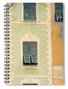 Houses, Portofino, Italy Spiral Notebook