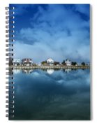 Houses Reflecting In The Bay Spiral Notebook