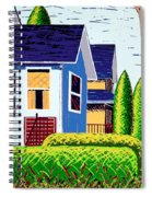 Houses Remastered Spiral Notebook