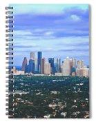 Houston 1980s Spiral Notebook