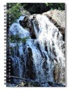 Houston Brook Falls Panorama Spiral Notebook