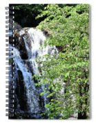 Houston Brook Falls Square Spiral Notebook