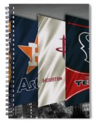 Houston Sports Teams 2 Spiral Notebook