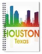 Houston Tx Spiral Notebook