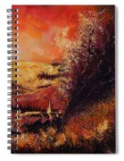 Houyet In Fall Spiral Notebook