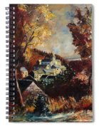Houyet Village Belgium Spiral Notebook