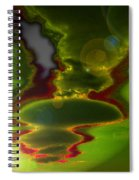 Hovering Spiral Notebook