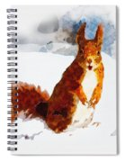 How Comedic Are Squirrels Spiral Notebook