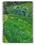 How Green Is My Valley Spiral Notebook