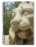 How Loud Is A Lion Spiral Notebook