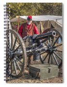 Howitzer Battle Of Honey Springs V3 Spiral Notebook