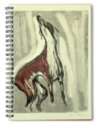 Howling For Joy Spiral Notebook