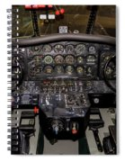 Hu-16b Albatross Cockpit Spiral Notebook