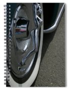 Hub Cap Curves Spiral Notebook