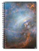 Hubble Captures The Beating Heart Of The Crab Nebula Spiral Notebook