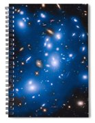 Hubble Sees Ghost Light From Dead Galaxies Spiral Notebook