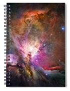 Hubble's Sharpest View Of The Orion Nebula Spiral Notebook