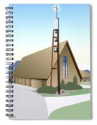 Hudson Community Church Spiral Notebook