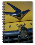 Hudson Hood Ornament And Logo Spiral Notebook