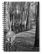 Hudson Mills Disc Golf Spiral Notebook