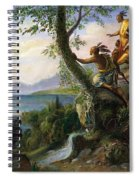 Hudson: New York, 1609 Spiral Notebook