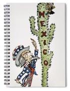 Huerta: Cartoon, C1914 Spiral Notebook