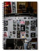 Huey Instrument Panel Spiral Notebook