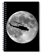 Huey Moon .png Spiral Notebook
