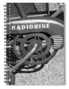 Huffy Radio Bike Spiral Notebook