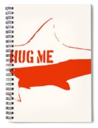 Hug Me Shark Spiral Notebook
