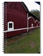 Huge Barn Spiral Notebook
