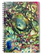 Huge Crater  Spiral Notebook