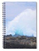 Huge Storms River Splash Spiral Notebook