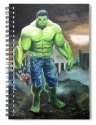 Hulk. Original Acrylic Spiral Notebook
