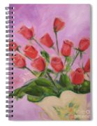 Hull Roses Spiral Notebook