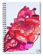 Human Heart Pa Spiral Notebook