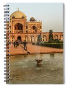 Humayun's Tomb 01 Spiral Notebook
