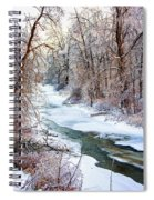 Humber River Winter Spiral Notebook