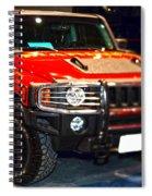 Hummer - Marine Recruiting Spiral Notebook