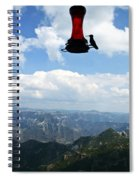Humming At Copper Canyon Spiral Notebook
