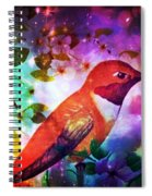 Humming The Night Away Spiral Notebook