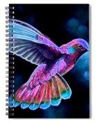 Hummingalong Spiral Notebook