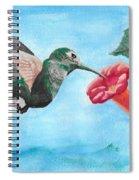 Hummingbird Trumpet Spiral Notebook