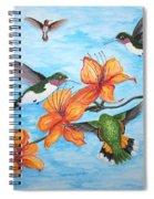 Hummingbirds Spiral Notebook