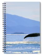 Humpback Whale Flukes Spiral Notebook