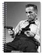 Humphery Bogart As Gangster Roy Earle High Sierra 1941 Spiral Notebook