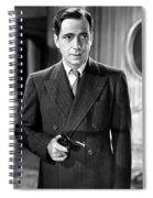 Humphrey Bogart As As Gangster Gloves Donahue All Through The Night 1941 Spiral Notebook